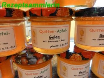 M+G:   QUITTEN - APFEL - GELEE - Rezept