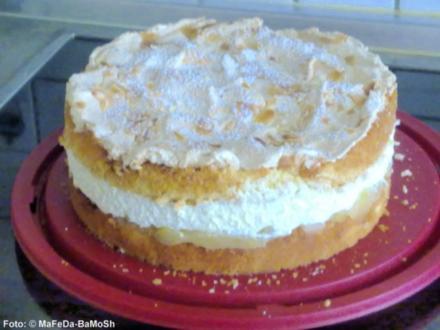 Apfel-Baiser-Torte - Rezept