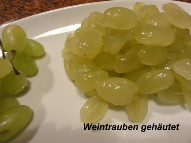 Dessert:   QUITTENGELEE mit kernlosen Trauben - Rezept - Bild Nr. 2
