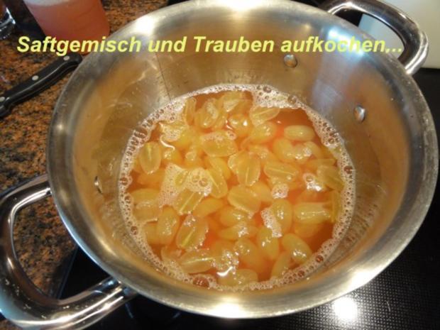 Dessert:   QUITTENGELEE mit kernlosen Trauben - Rezept - Bild Nr. 4