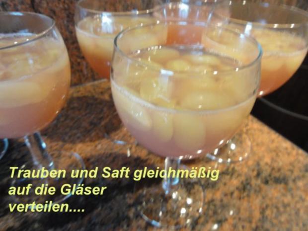 Dessert:   QUITTENGELEE mit kernlosen Trauben - Rezept - Bild Nr. 5
