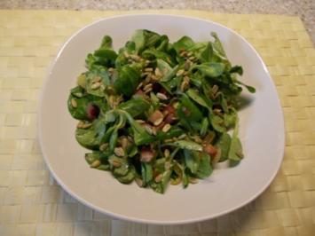 Feldsalat mit Dörrfleisch - Rezept