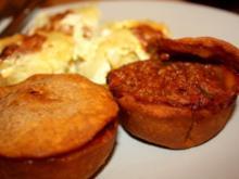 Hackfleischpies aus der Muffinform - Rezept