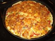 Quiche mit Camembert und Tomaten - Rezept