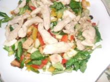 Salat  knackig und frisch - Rezept