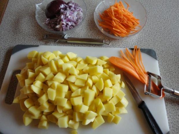 samtige Kartoffel Suppe mit Steinpilzen - Rezept - Bild Nr. 2