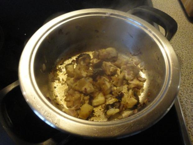 samtige Kartoffel Suppe mit Steinpilzen - Rezept - Bild Nr. 7