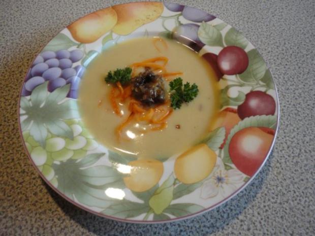 samtige Kartoffel Suppe mit Steinpilzen - Rezept - Bild Nr. 9