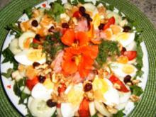 Bunter Salatteller - Rezept
