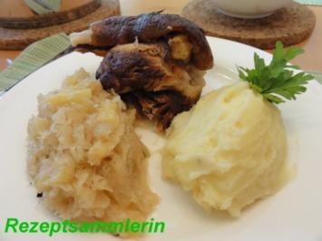 Fleisch:   EISBEIN geschmort - Rezept