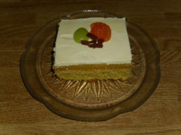 Mandarinen-Schnitten - Rezept