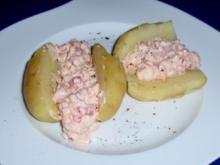 Würziger Quark mit Pellkartoffeln - Rezept