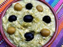 Zucchinimus mit Schafskäse - Rezept