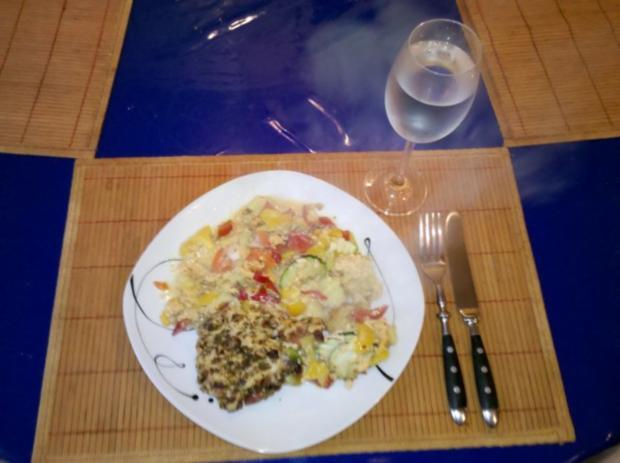 Gemüse: Schicht-Gemüse-Auflauf - Rezept