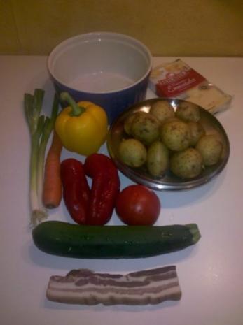 Gemüse: Schicht-Gemüse-Auflauf - Rezept - Bild Nr. 2