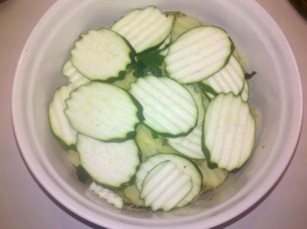 Gemüse: Schicht-Gemüse-Auflauf - Rezept - Bild Nr. 4