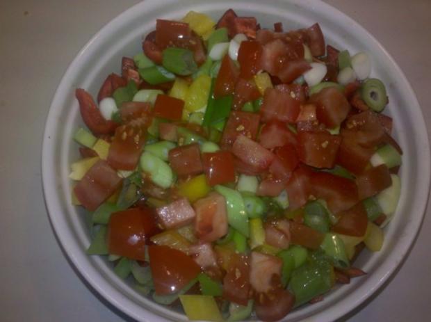 Gemüse: Schicht-Gemüse-Auflauf - Rezept - Bild Nr. 6