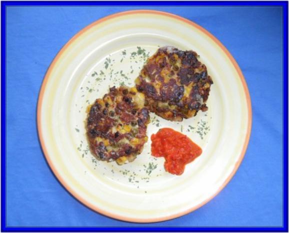Hüttenkäse-Taler mit Gemüse - Rezept - Bild Nr. 10