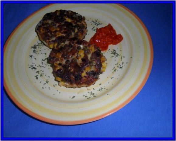 Hüttenkäse-Taler mit Gemüse - Rezept