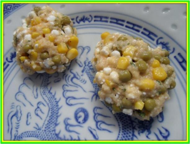 Hüttenkäse-Taler mit Gemüse - Rezept - Bild Nr. 7
