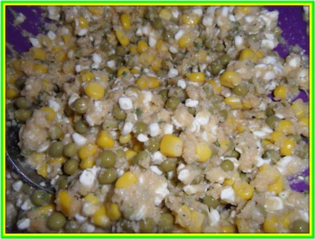 Hüttenkäse-Taler mit Gemüse - Rezept - Bild Nr. 6