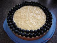Kuchen & Torten : Weintrauben-Puddingtorte - Rezept