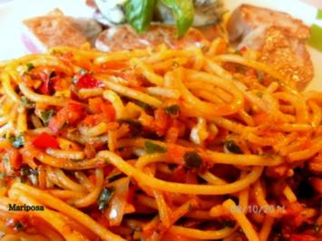 "Spaghetti ""Ramadama"" - Rezept"