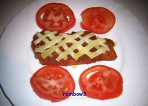 Kochen: Panierte Schnitzel mit Käsegitter - Rezept