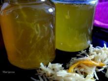 Ingwer-Orangen-Gelee - Rezept