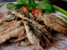 Spanien: Sardellen frittiert - Rezept