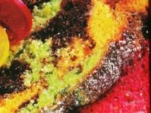 Bunter Papageien Kuchen - Rezept