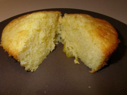 Mandarinen-Joghurt-Muffins bzw. Kuchen im Glas - Rezept