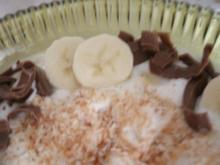 Bananen-Kokos- Dessert - Rezept
