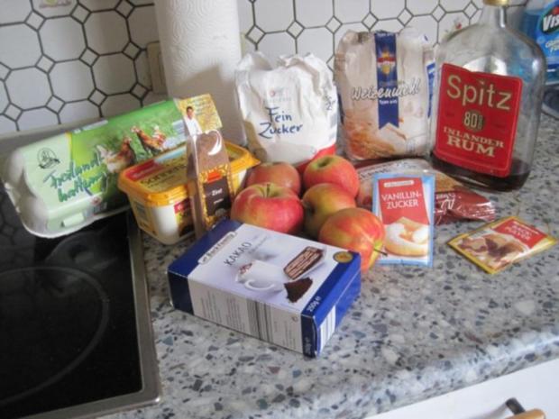 """Beschwipster Apfelkuchen """"Anita"""" - Rezept - Bild Nr. 2"""