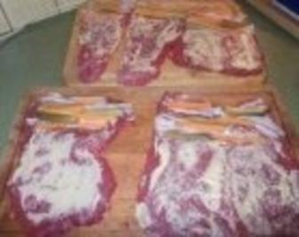 Rindsrouladen nach Oma - Rezept