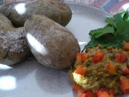 Runzelkartoffel nach Kanarischer Art - Rezept