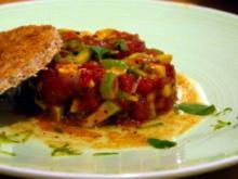 Avocado-Tomaten-Tatar - Rezept