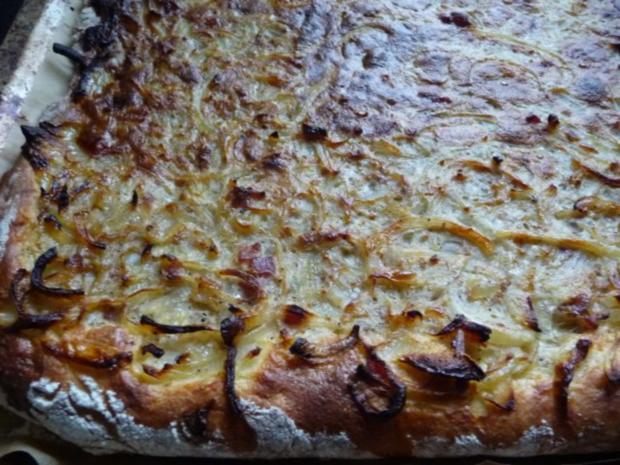 Zwiebel-Speck-Kuchen - Rezept - Bild Nr. 4