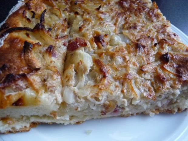 Zwiebel-Speck-Kuchen - Rezept - Bild Nr. 5