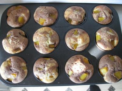 Marmor-Pfirisch-Muffins - Rezept
