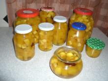 Kürbis süßsauer - Rezept