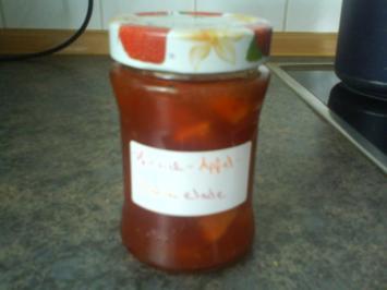Pfirsich-Apfel-Marmelade - Rezept