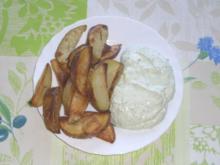 Rosmarinkartoffeln mit Kräuterquark - Rezept