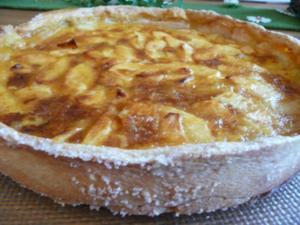 Apfelkuchen nach französischer Art - Rezept