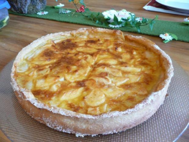 Apfelkuchen nach französischer Art - Rezept - Bild Nr. 2