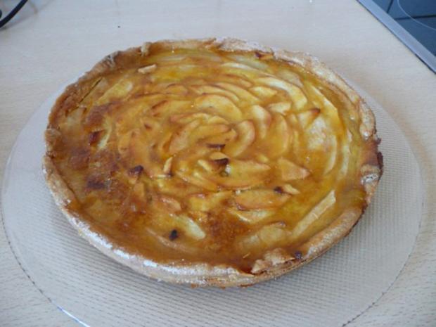 Apfelkuchen nach französischer Art - Rezept - Bild Nr. 3