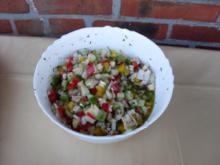 Herbstsalat-Biologisch und Bunt - Rezept