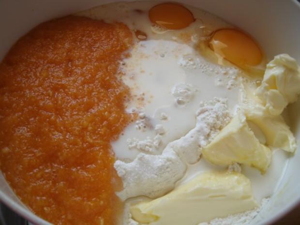 Süße weiche Kürbisbrötchen - Rezept - Bild Nr. 5