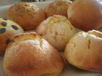 Rezept: Süße weiche Kürbisbrötchen