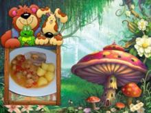 Fleisch : Schweine - Rollbraten - Rezept